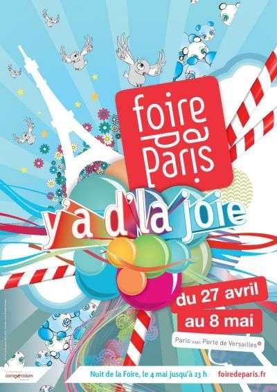 La Foire de Paris se déroule cette année sur le thème de la joie, du 27 avril au 8 mai. © Tous droits réservés