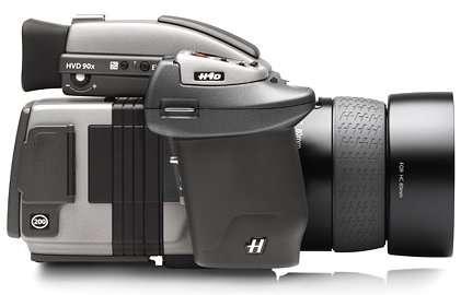 Le H4D-200MS, pour les professionnels de la photo de studio. © Hasselblad