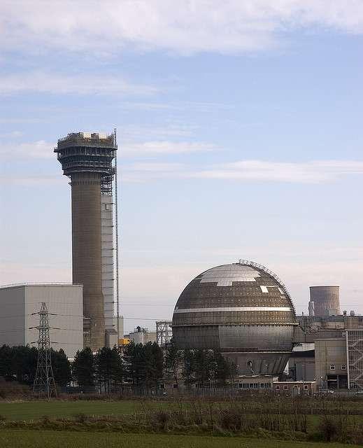 L'ancienne centrale nucléaire de Windscale en démantèlement sur le site de Sellafield. © Tim Duckett CC by-nc-sa 2.0