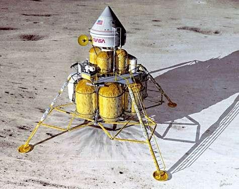 Projet de retour à la Lune. Crédit Nasa