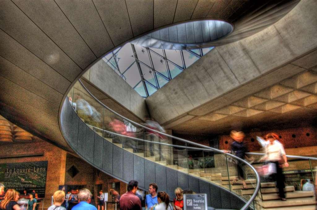 Il existe différents types d'escaliers, pour tous les goûts. © Vl8189, Flickr, CC BY 2.0