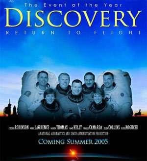Le retour en vol de la navette Discovery