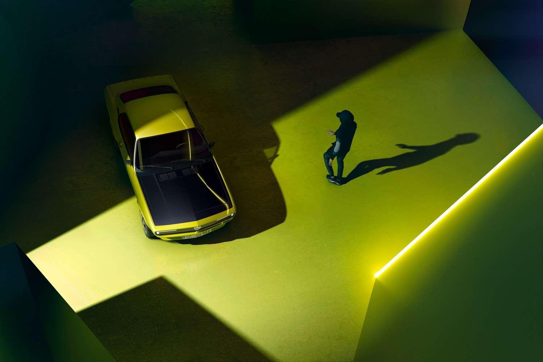 Un aperçu de l'Opel Manta GSe ElektroMOD. © Opel