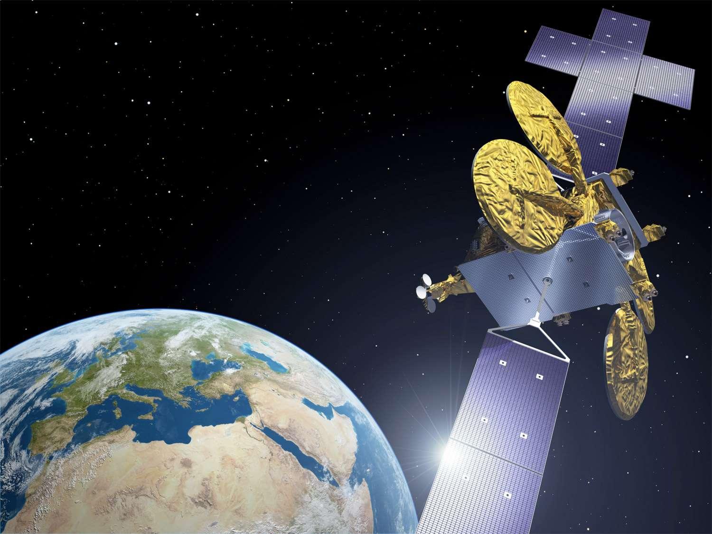 Si la propulsion électrique des satellites fait son entrée dans les plans de l'Élysée, elle est au programme des industriels européens depuis plusieurs années. © P. Carril, Esa