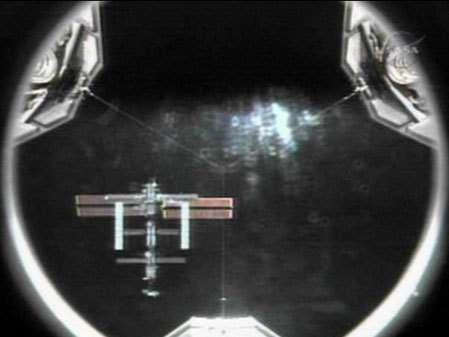 Discovery s'est amarrée à l'ISS le 6 juillet à 16H52 (heure de Paris)