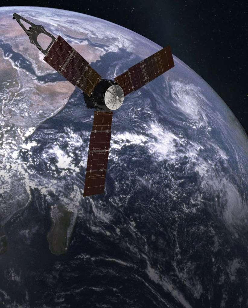 Dans le Système solaire, les assistances gravitationnelles des planètes sont utilisées pour augmenter la vitesse des sondes qui les survolent, sans aucune dépense d'énergie. Ces voies détournées pour rejoindre d'autres planètes rendent ainsi les voyages dans le Système solaire plus rapides qu'en ligne droite, mais au prix de corrections de trajectoires toujours délicates à effectuer. © SWRI