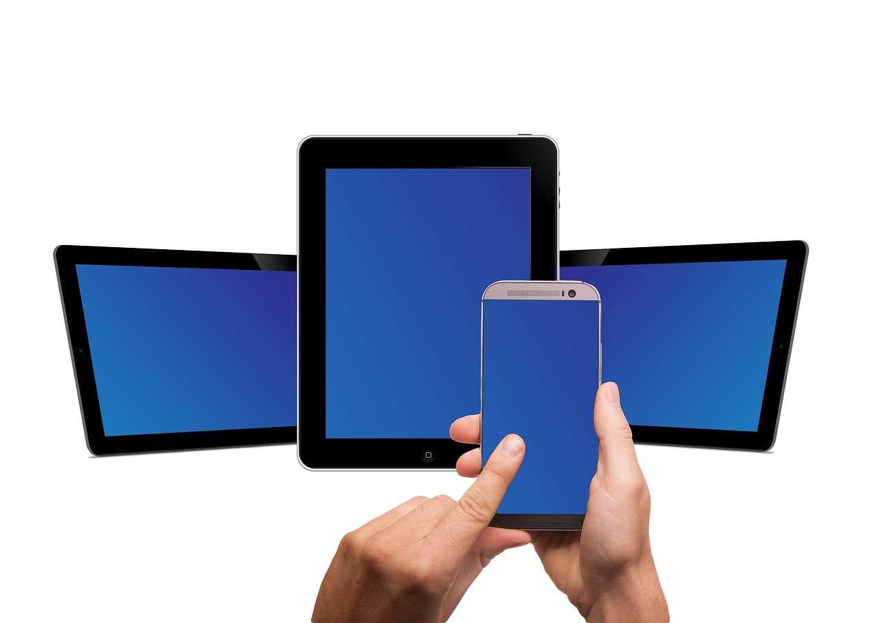 Il existe plusieurs technologies d'écran tactile. © Pixabay, DP