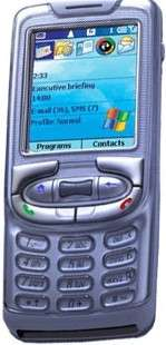 Premier téléphone mobile Microsoft & Intel inside