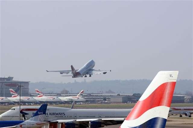 Un Boeing 747 de Virgin Atlantic s'envole pour un test de biocarburant. © Boeing