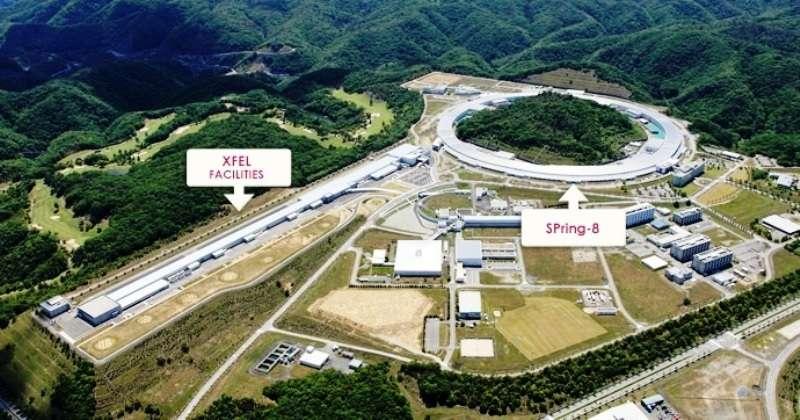 Sur la gauche se trouve le bâtiment abritant Sacla (XFEL) et à droite SPring 8. © X-ray Free Electron Laser