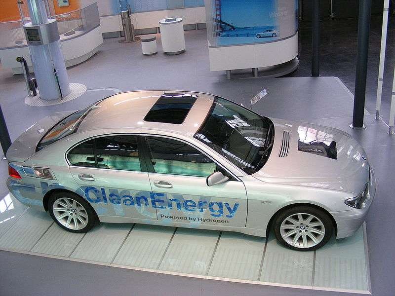 Voiture à hydrogène de BMW. © Mattes, Wikimedia CC by-sa 3.0