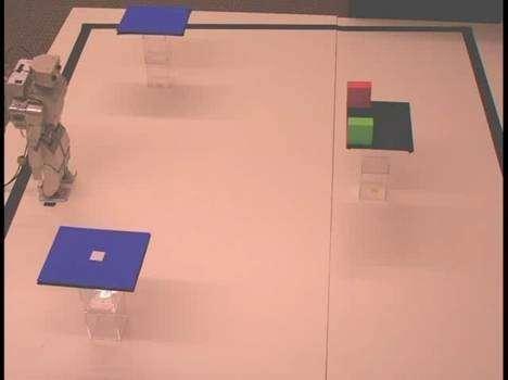 Le robot contrôlé par la pensée