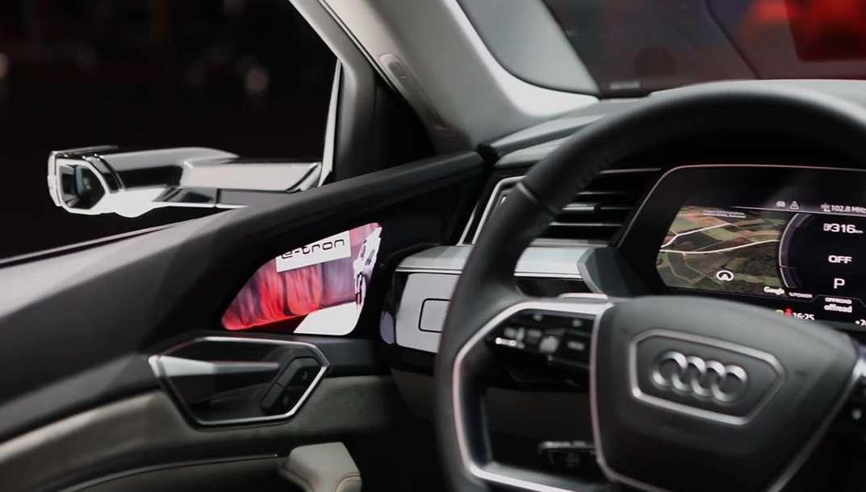 2020 Audi E-Tron : des rétroviseurs virtuels nouvelle génération