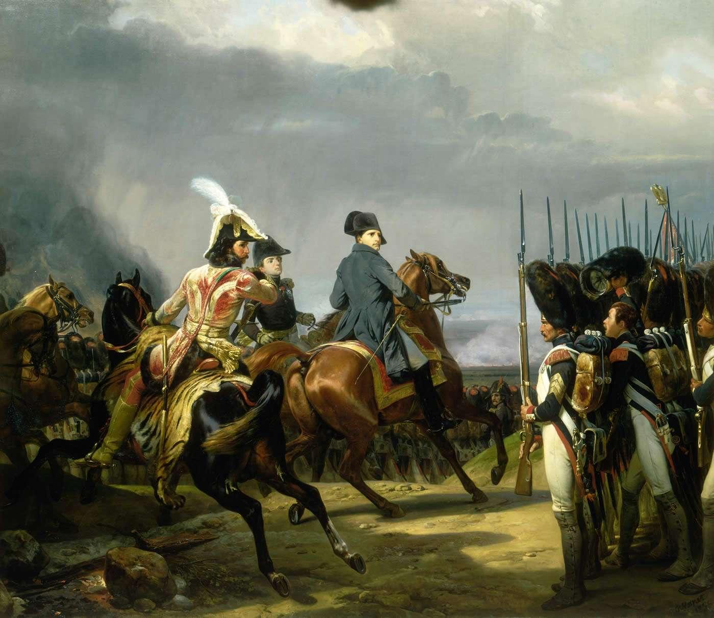 Le 14 octobre 1806, Napoléon Bonaparte a remporté la bataille d'Iéna face à l'armée prussienne. © Horace Vernet, Wikimedia Commons, DP