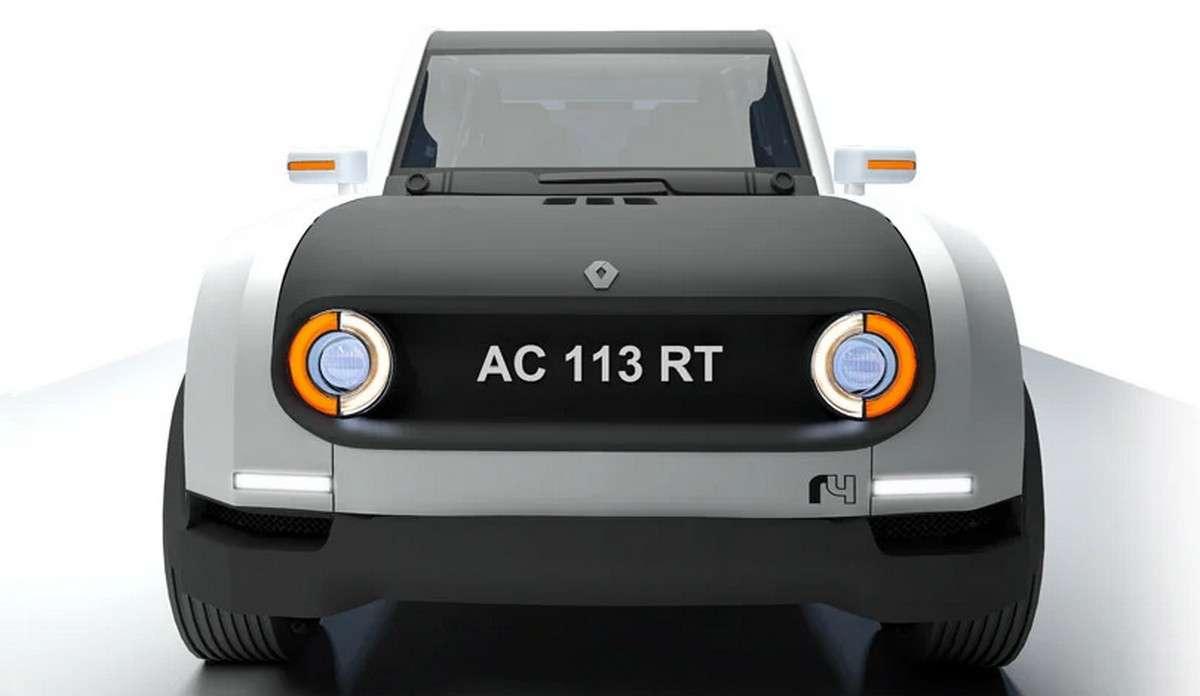 Le concept R4volution de Mark Cunningham a remporté le concours de design organisé par Renault en 2011 pour rendre hommage à la 4L. © Mark Cunningham