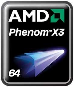 Le processeur X3 contient 4 - 1 cœurs. © AMD