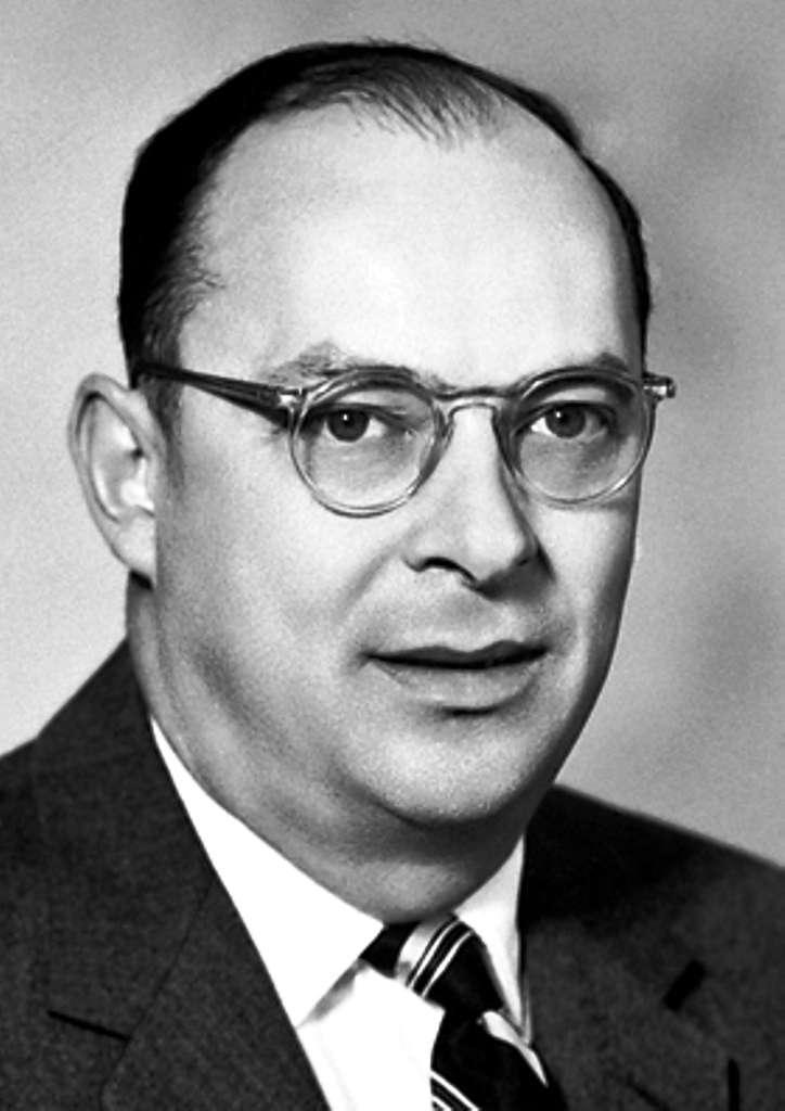 John Bardeen, l'un des inventeurs du transistor. © The Nobel Foundation 1956