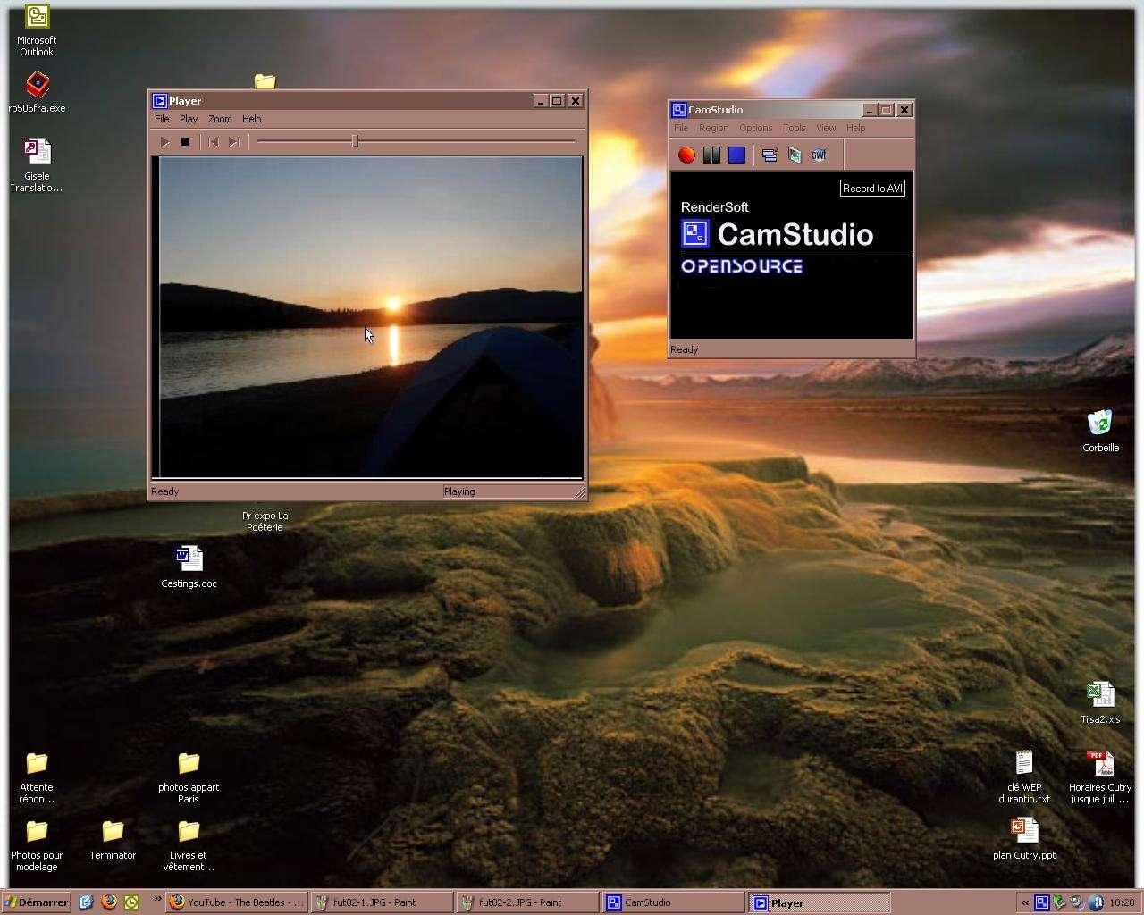 Capture d'une séquence vidéo diffusée sur le Web. © Futura-Techno