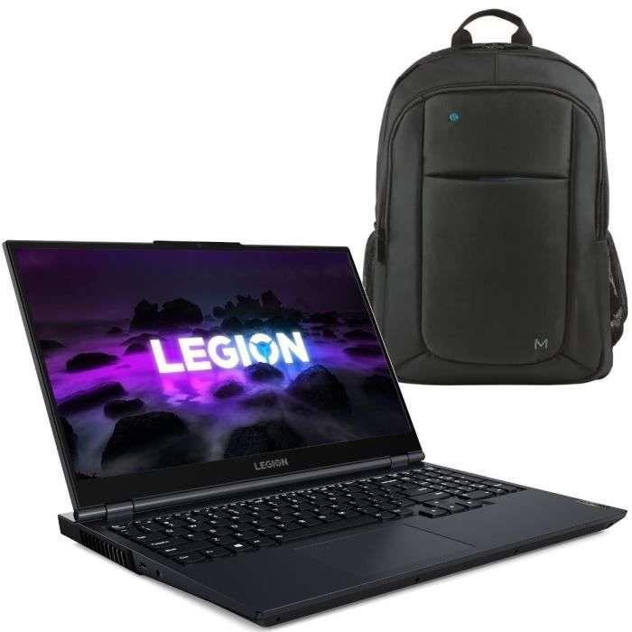 Bon plan : le pack PC portable gamer Lenovo Legion 5 15ACH6H © Cdiscount