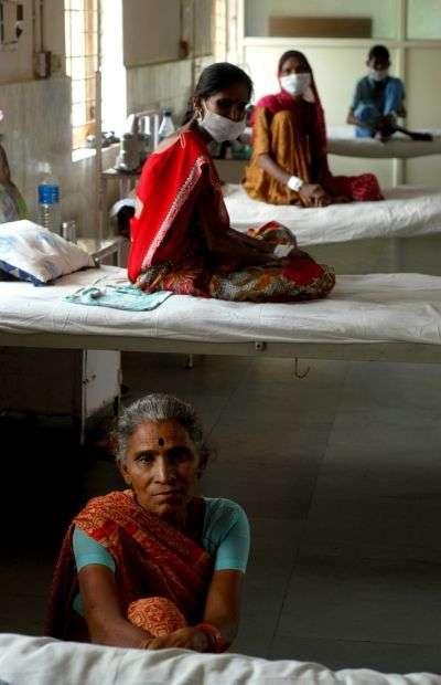 La tuberculose tue, dans le monde, 1,7 million de personnes chaque année. © AFP Photo/Marine Simon