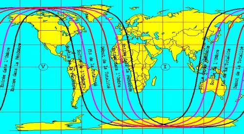 Éclipse totale de Lune visible en Nouvelle-Calédonie, en Polynésie et en Amérique