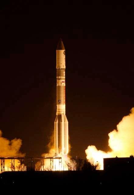 Lancement réussi de Satmex 8, qui doit remplacer Satmex 5 et fonctionner pendant au moins 15 ans. Il s'agit d'un succès pour la fusée Proton, après sa mésaventure en fin d'année dernière. © International Launch Services