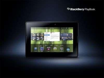 Le PlayBook, discret avec son unique centimètre d'épaisseur et un écran de 18 cm de diagonale. © RIM
