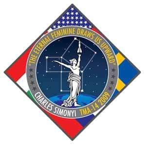 Logo du prochain vol de Charles Simonyi. Crédit Space Adventures