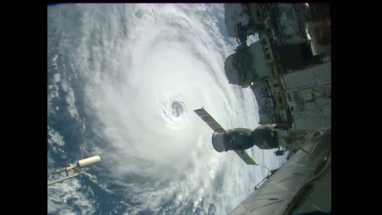 Time-lapse incroyable de trois ouragans filmés depuis l'ISS