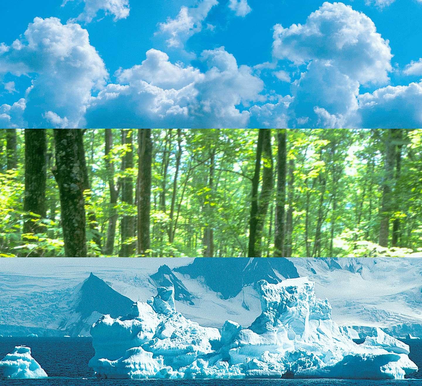 Le programme d'observation de la Terre de l'Agence spatiale européenne comptera une mission de plus avec la sélection en mars de la septième mission d'exploration de la Terre. Elle concernera soit la biomasse, soit l'eau potable sous forme de neige, soit l'atmosphère. © Esa