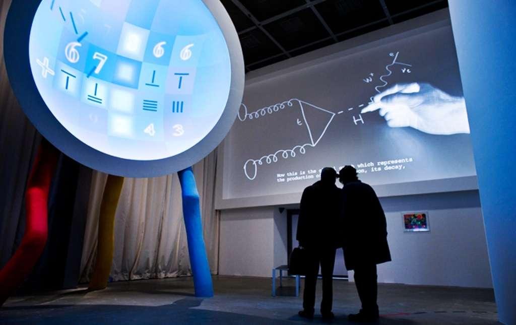 Vue de l'exposition Mathématiques, un dépaysement soudain. © Olivier Ouadah