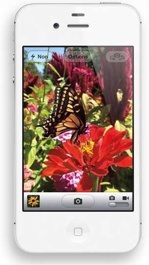 L'écran tactile de l'iPhone d'Apple est de type capacitif. © Apple