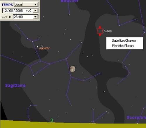La Lune est en rapprochement avec Pluton