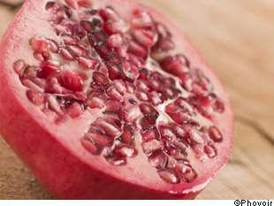 La grenade est bonne pour la santé, comme les fruits et les légumes. Mais c'est une alimentation équilibrée qui est la meilleure prévention contre le cancer. © Phovoir