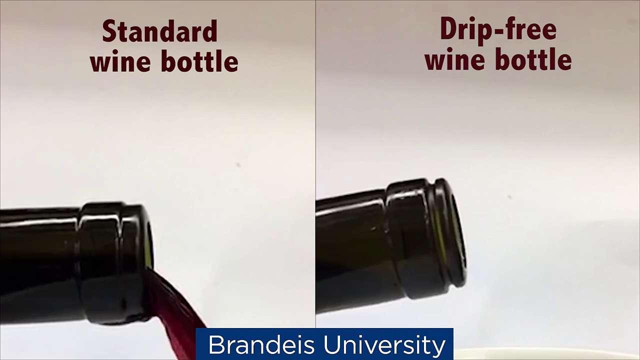 Révolutionnaire : une bouteille de vin qui ne goutte pas