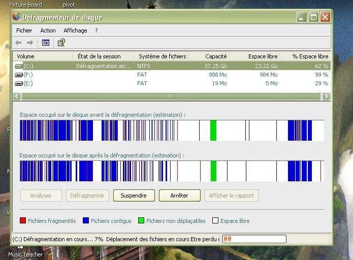 Défragmentation de disque-dur - Crédits Futura-Sciences