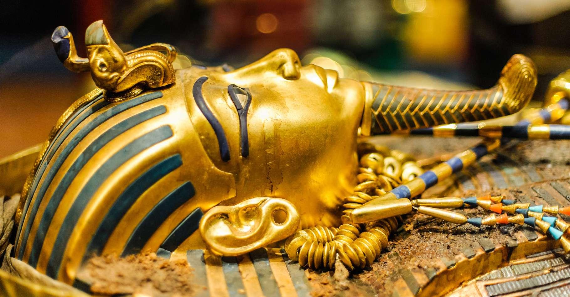Après 3.300 ans d'existence, le sarcophage de Toutankhamon va être restauré pour la première fois. © Dieter Hawlan, Fotolia