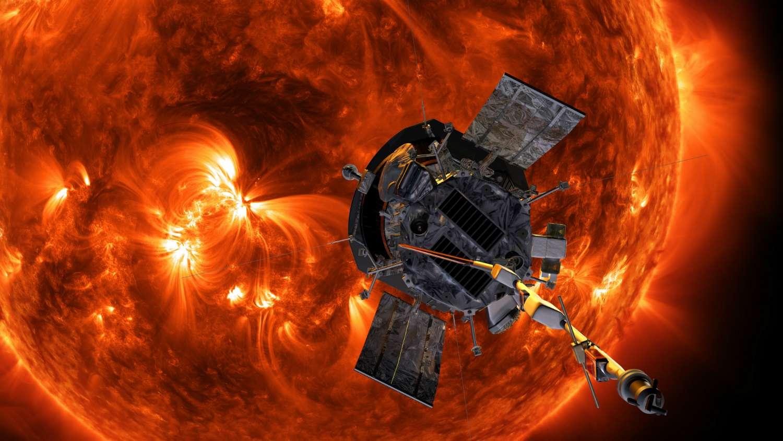 La sonde Parker Solar Probe bat des records de vitesse et de proximité au Soleil. © Nasa/Johns Hopkins APL/Steve Gribben