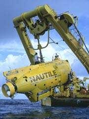 Le Nautile de l'IfrmerCrédit : www.titanicnorden.com