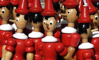 L'histoire de Pinocchio et de son nez qui s'allonge à chacun de ses mensonges a marqué les esprits de tous les enfants. Le conte pourrait comporter une part de vérité, puisqu'il semble possible de démasquer le mensonge en regardant l'organe de l'odorat avec une caméra thermique. © Beniamin η δωδέκατη, klearchosguidetothegalaxy.blogspot.fr, cc by 3.0