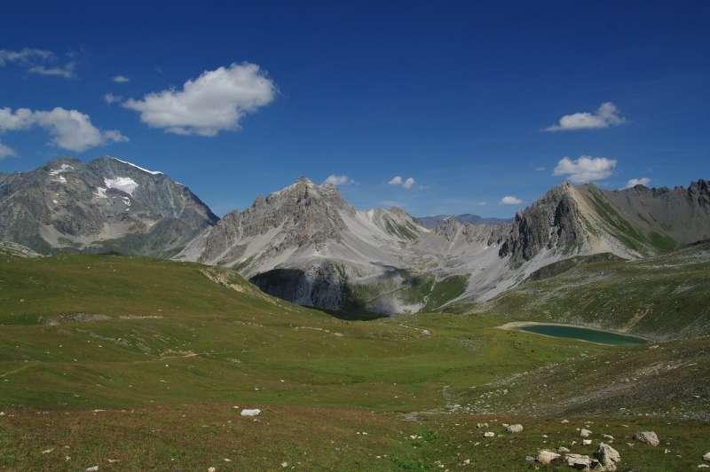 Le parc national de la Vanoise est délimité, au nord, par la vallée de l'Isère, et au sud par la Maurienne. © genevieveromier, Flickr, cc by 2.0