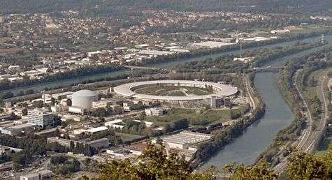 L'ESRF à Grenoble. Crédit image : Christian Hendrich (Commons).