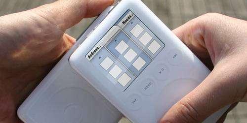 En croisant 2 iPods, ceux-ci comparent leurs données pour montrer ce qu'ils ont en commun