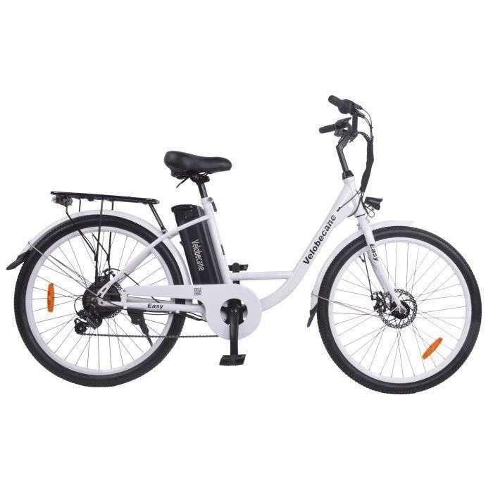 Vélo électrique 26' Velobecane à 649,99 € © Cdiscount