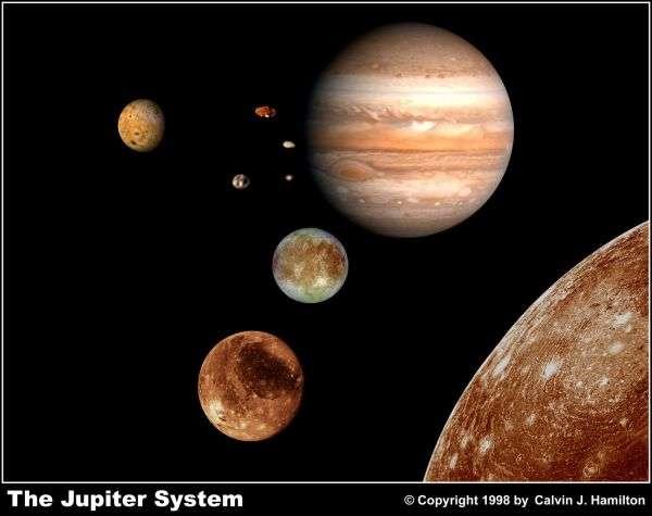 La planète Jupiter. © Calvin J. Hamilton
