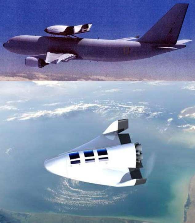 Avec ses larges baies vitrées, le VSH offrira le spectacle unique de la « vision de la Terre depuis l'espace », explique Philippe Coué. © Dassault Aviation