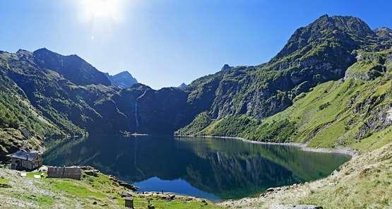 La Haute-Garonne s'étend des pieds des Pyrénées jusqu'à ses sommets frontaliers avec l'Espagne. © DR