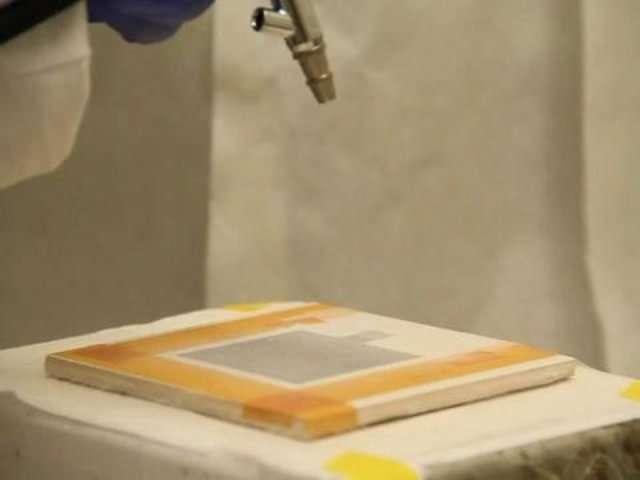 Création d'une batterie à partir de peintures