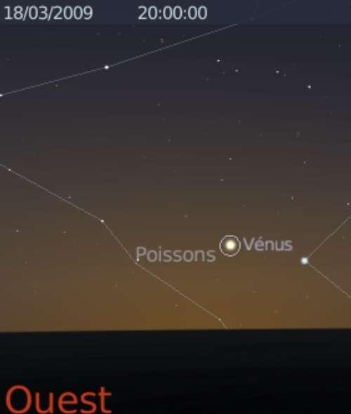 La planète Vénus est observable le matin et le soir