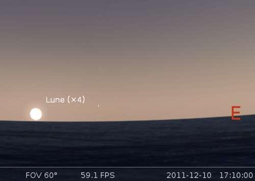Éclipse partielle de Lune visible en Europe